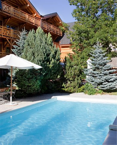 Piscina Chalet Mounier 2 Alpes