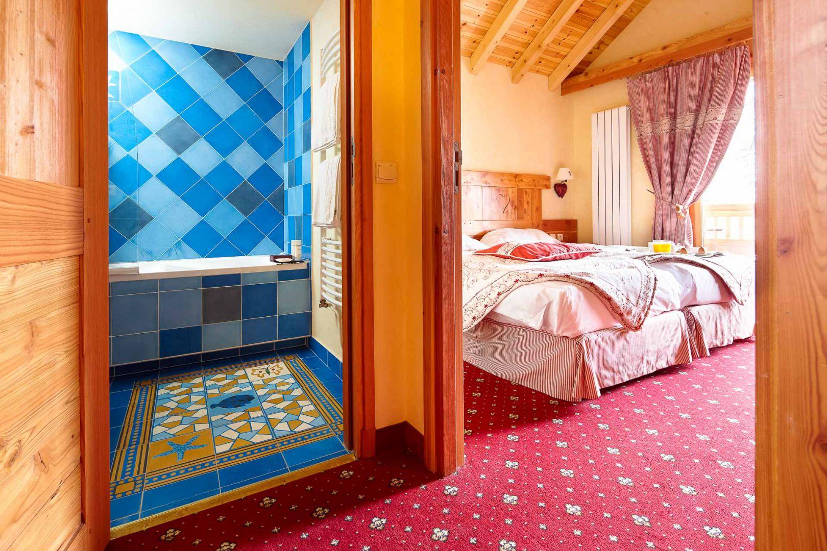 Hotel 4 etoiles les 2 Alpes, Chambres Chalet Mounier